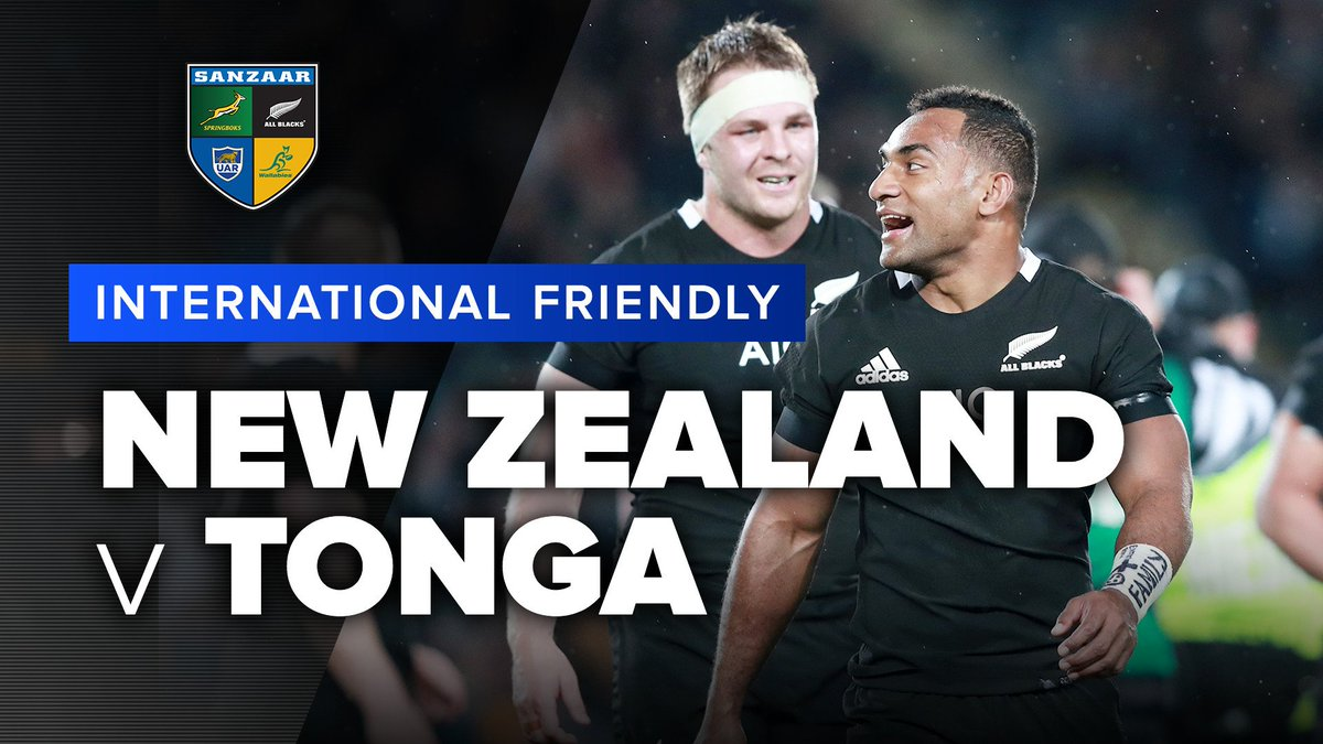 New Zealand v Tonga | International Test Highlights The All Blacks have put on a clinic as they run over 14 tries against Tonga in their final test before the World Cup. #NZLvTGA