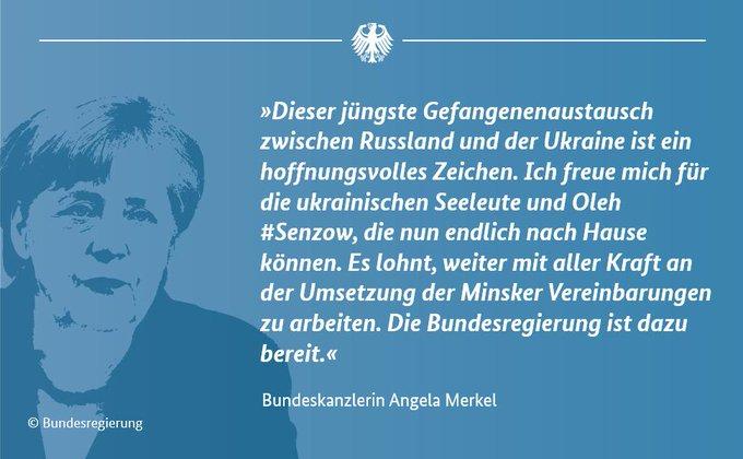 Grafik mit einem Zitat von Kanzlerin Merkel: