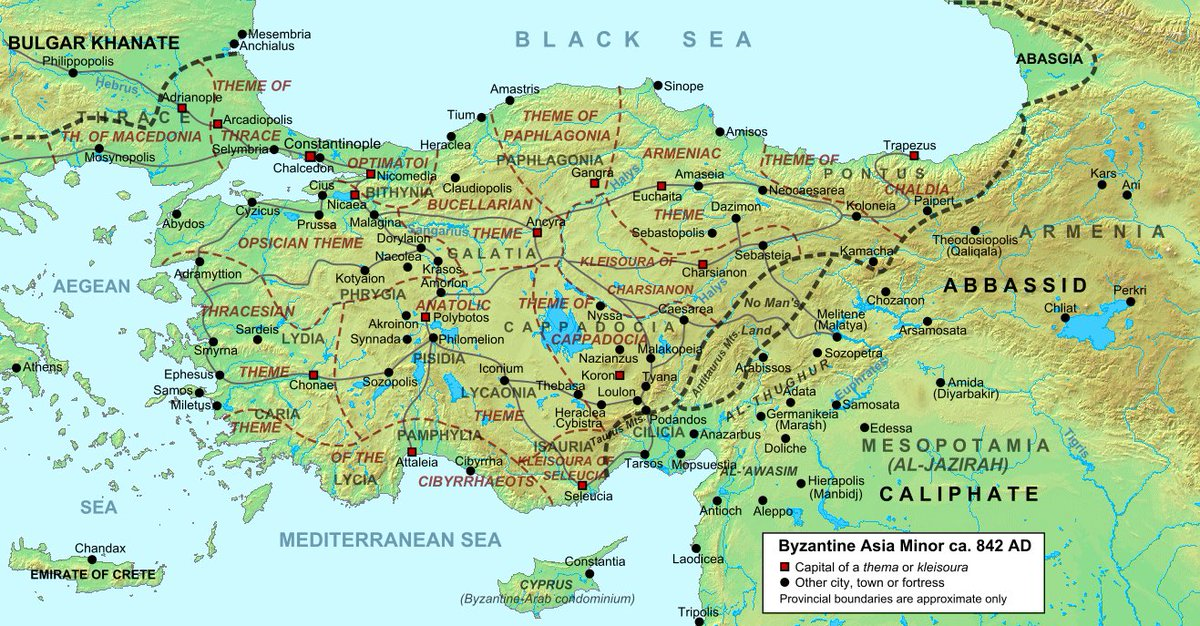 Purpura V Twitter The Arab Roman Wars 629 1180 Were The Empire S Longest Lasting Conflict 551 Years After The Second Arab Siege Of Constantinople Failed In 718 The Land Frontier Stabilized Along The Taurus Anti Taurus