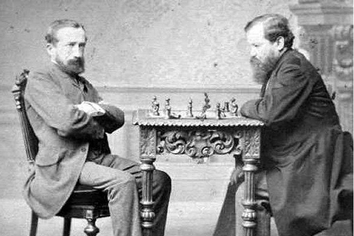 """International Chess Federation on Twitter: """"German-Polish #chess master  Johannes Zukertort, the first-ever world championship match runner-up, was  born on September 7, 1842. One of the best players of the late 19th century,"""