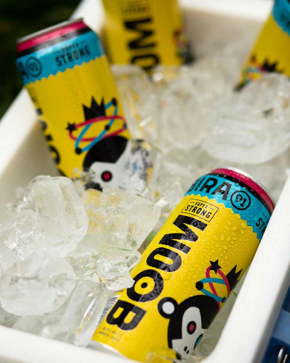 Need that extra kick this weekend? #Bira91Boom should do the trick! Blow off some steam with one of these today🍺Best when chilled❄️.......#SuperTaste #SuperKick #Bira91Beers #Bira91 #flavourfulbeers