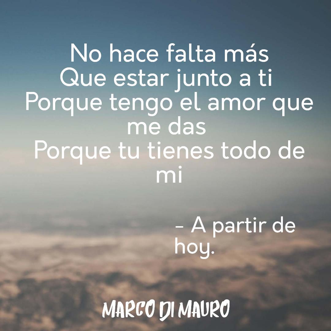¡¡Vamos a seguir cantándole al amor!! #LyricsConMarco #APartirDeHoy #ViveAmaCanta https://t.co/ZnEeikpwsj https://t.co/9CiSiXnh6m