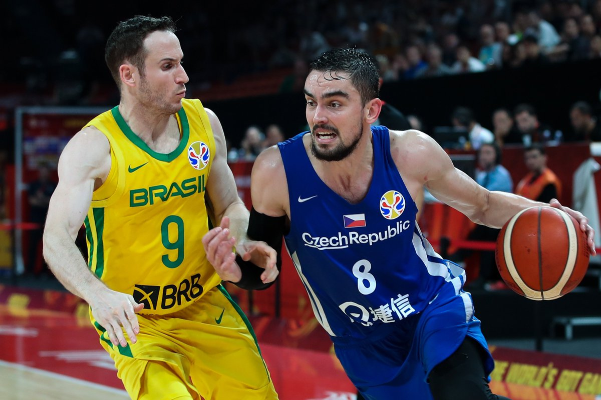 20 PTS | 9 AST | 7 REB | 3 STL  @satoransky fueled the @ceskybasketbal (3-1) victory against Brazil to open second round play in the #FIBAWC! #CzechRepublicGotGame