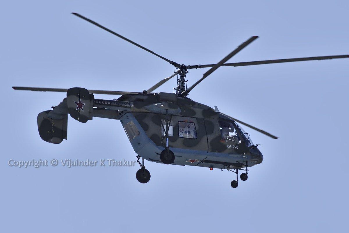 Kamov-226T : مروحيه روسيه بمحركات فرنسيه لتلبيه الاحتياجات الهنديه ........انها العولمه العسكريه  ED3E6tmU0AEjtZa