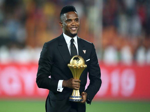 @setoo9 I take a bow 🙇 for your wonderful career-world class player -welcome to life after football Mr Samuel Eto'o Fils🙏🏿✊🏿
