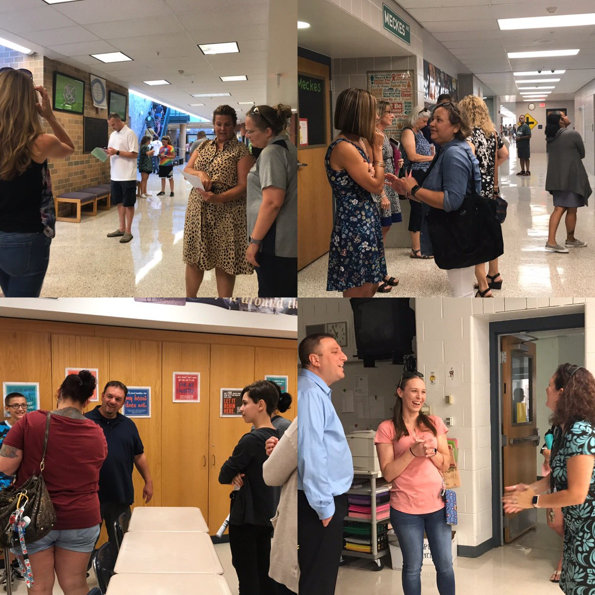 Great times at Meet the Teacher Night this week!