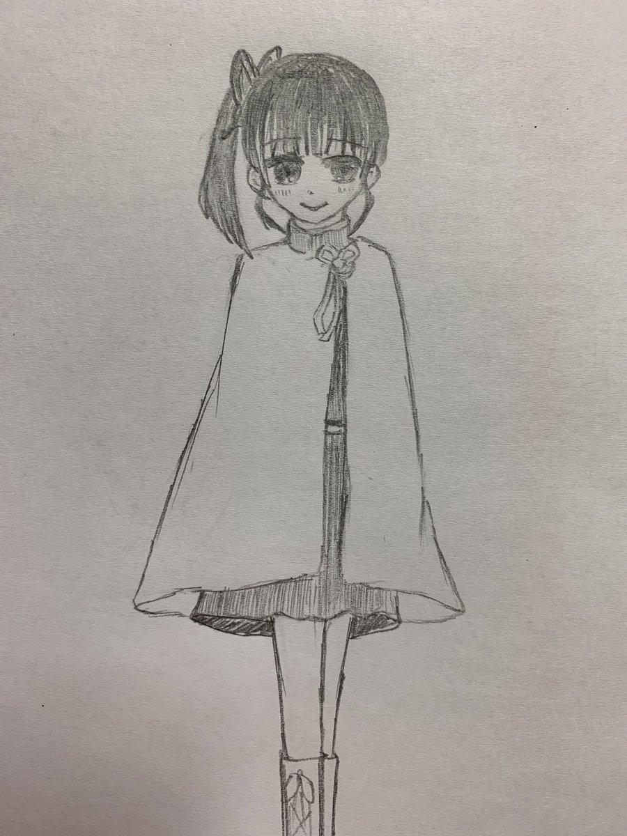 鬼滅の刃 カナヲ イラスト 簡単