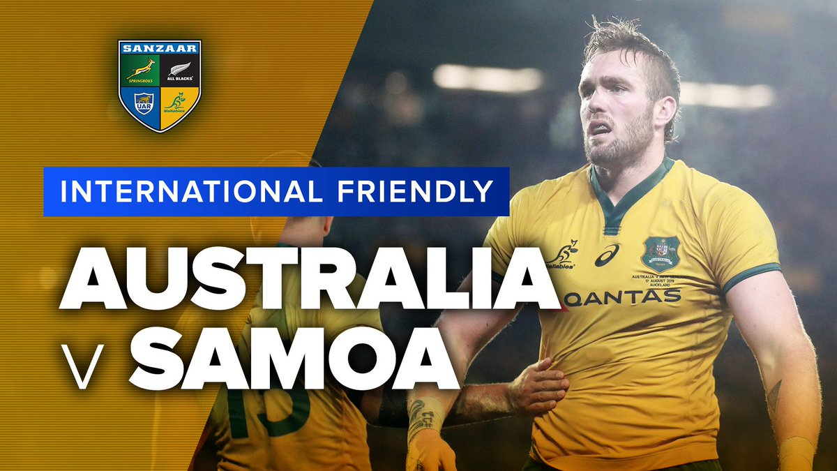 Australia v Samoa | International Test Highlights @qantaswallabies ran out 34-15 victors against a stubborn @SamoaRugby in the final test before the 2019 World Cup. #AUSvSAM