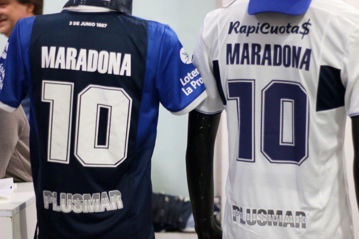 Gimnasia, Maradona
