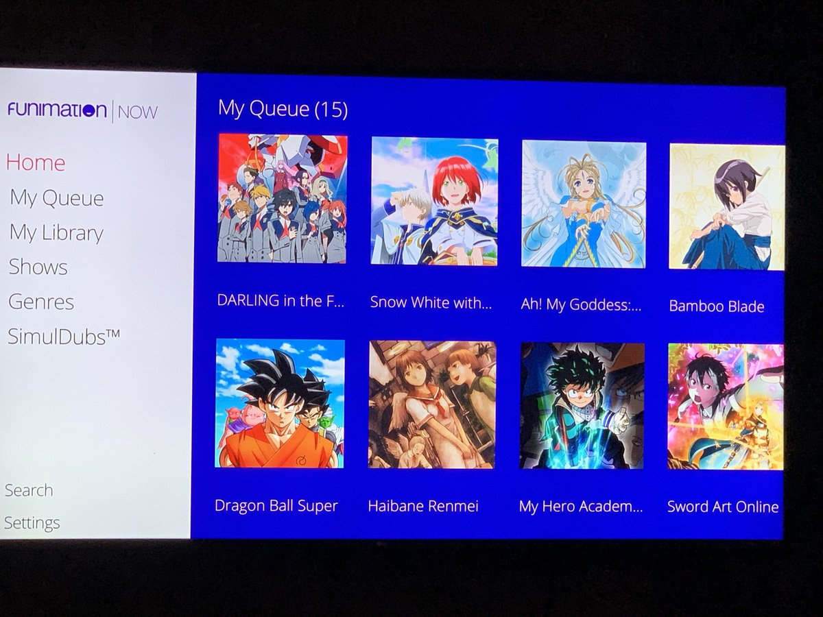 FUNimation - Twitter Search