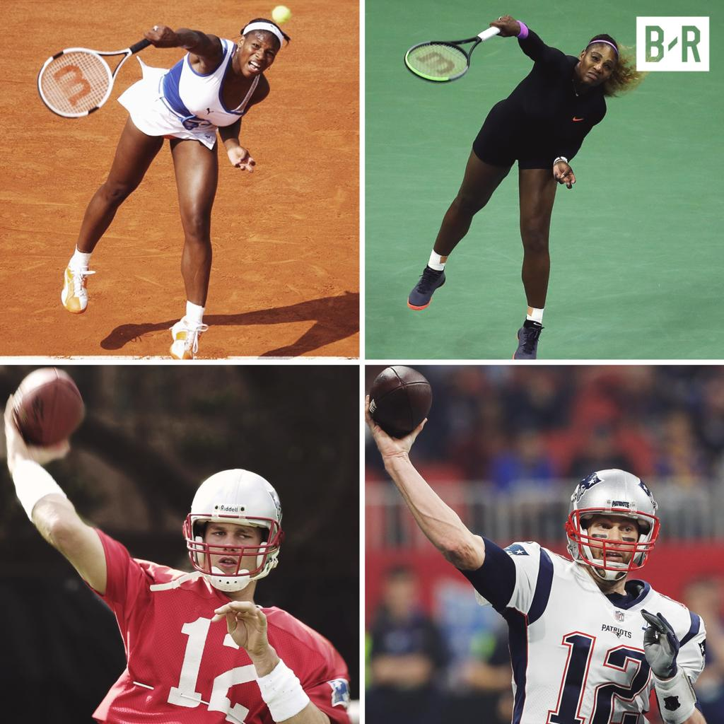 Serena in another US Open final.  Greatness never changes 💪