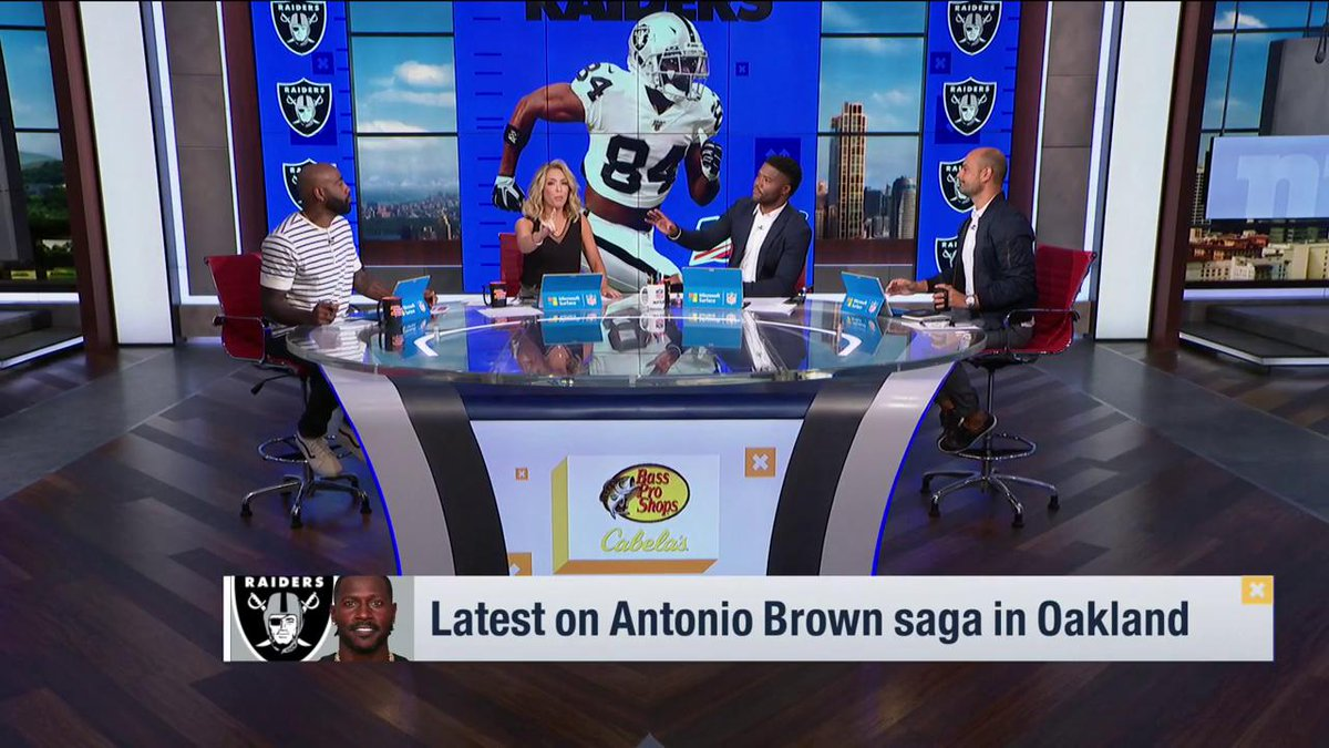 Gmfb On Twitter Antonio Brown Moments Ago On His Instagram Release Me Raiders Gmfb Weekend Crew Reacts To This Breaking News Tune In To Nflnetwork For More Https T Co Ercuf7ijjq