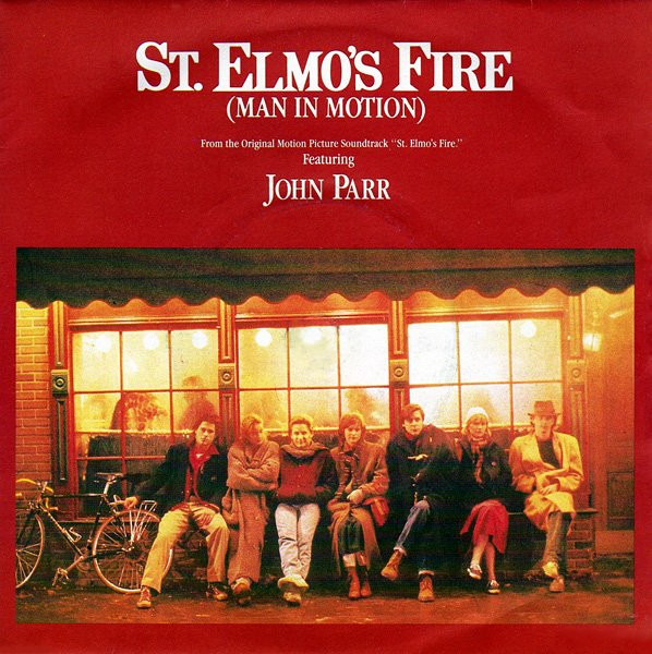 """Sept 7, 1985: """"St. Elmo's Fire (Man In Motion)"""" by @JohnParrMusic hit #1 on the Billboard Hot 100. #80s Held for 2 weeks. https://t.co/1aAcfvDtum"""