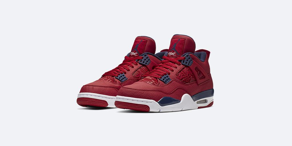 For the love of the game  Air Jordan 4 Retro 'Gym Red'  Shop 🇺🇸: http://gonike.me/6014E7btp