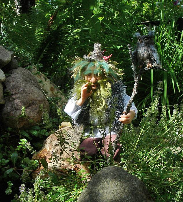 Картинки лешего из леса