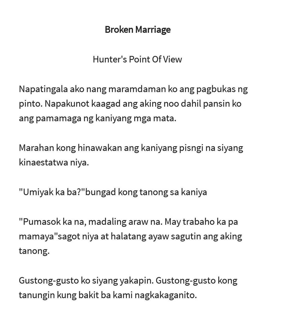 𝖇𝖔𝖐𝖚𝖙𝖔 On Twitter Broken Marriage 25