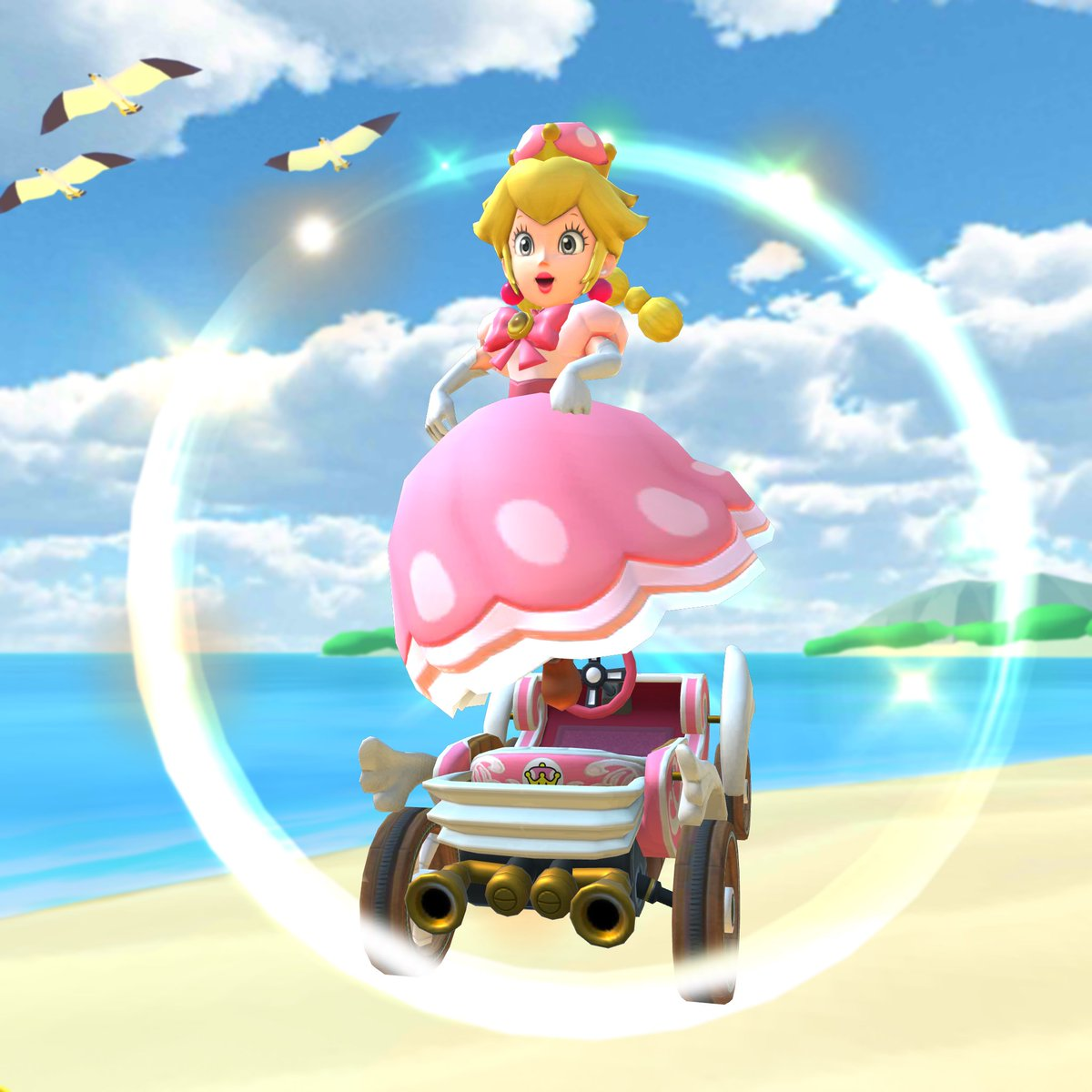 Mario Kart Tour On Twitter Is That Peach Nope