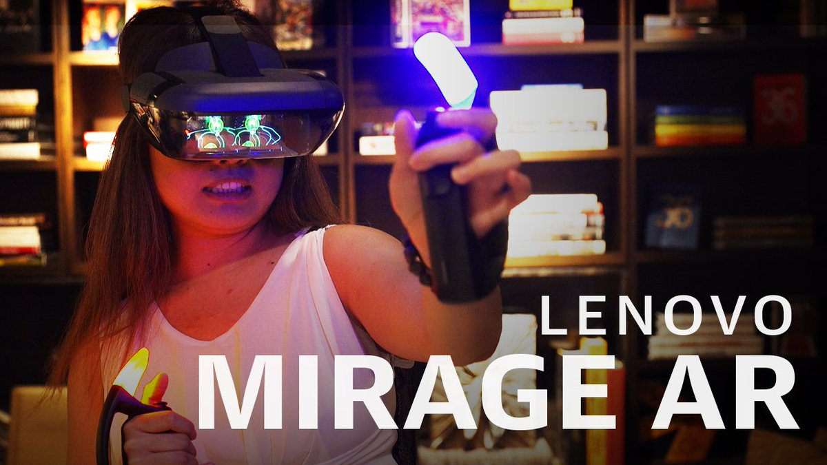 Lenovo made an Avengers game for its Mirage AR headset