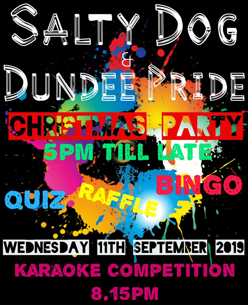 Karaoke Christmas Party.Dundee Pride On Twitter Join Us Wednesday The 11th For A