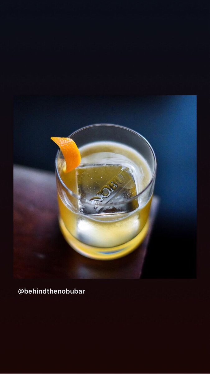 Hakusan , Kenko Garden , naming of #NobuCocktails is always curious . @NobuWorldwide  Follow their #cocktail Instagram account . #behindthenobubar