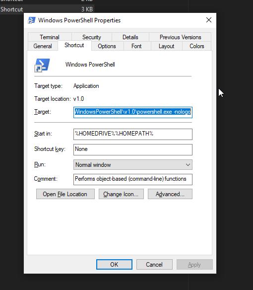 Remove the new ad in PowerShell 5 1 on Windows 10 | netnerds net