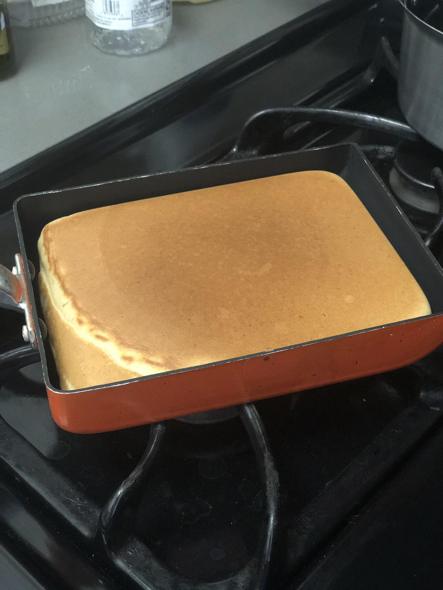 なるほど!お子様用のホットケーキはこう焼くと後々も便利!