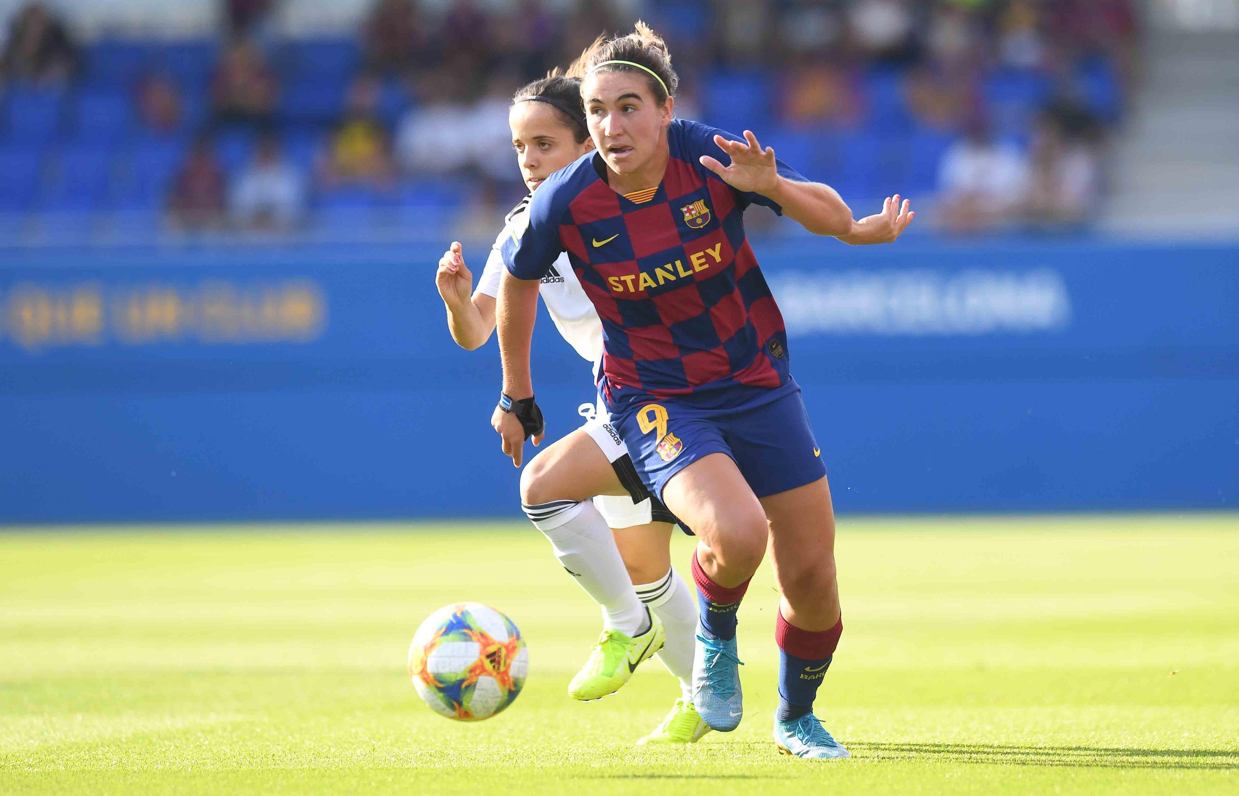 El Barcelona goleó con comodidad al Tacón.
