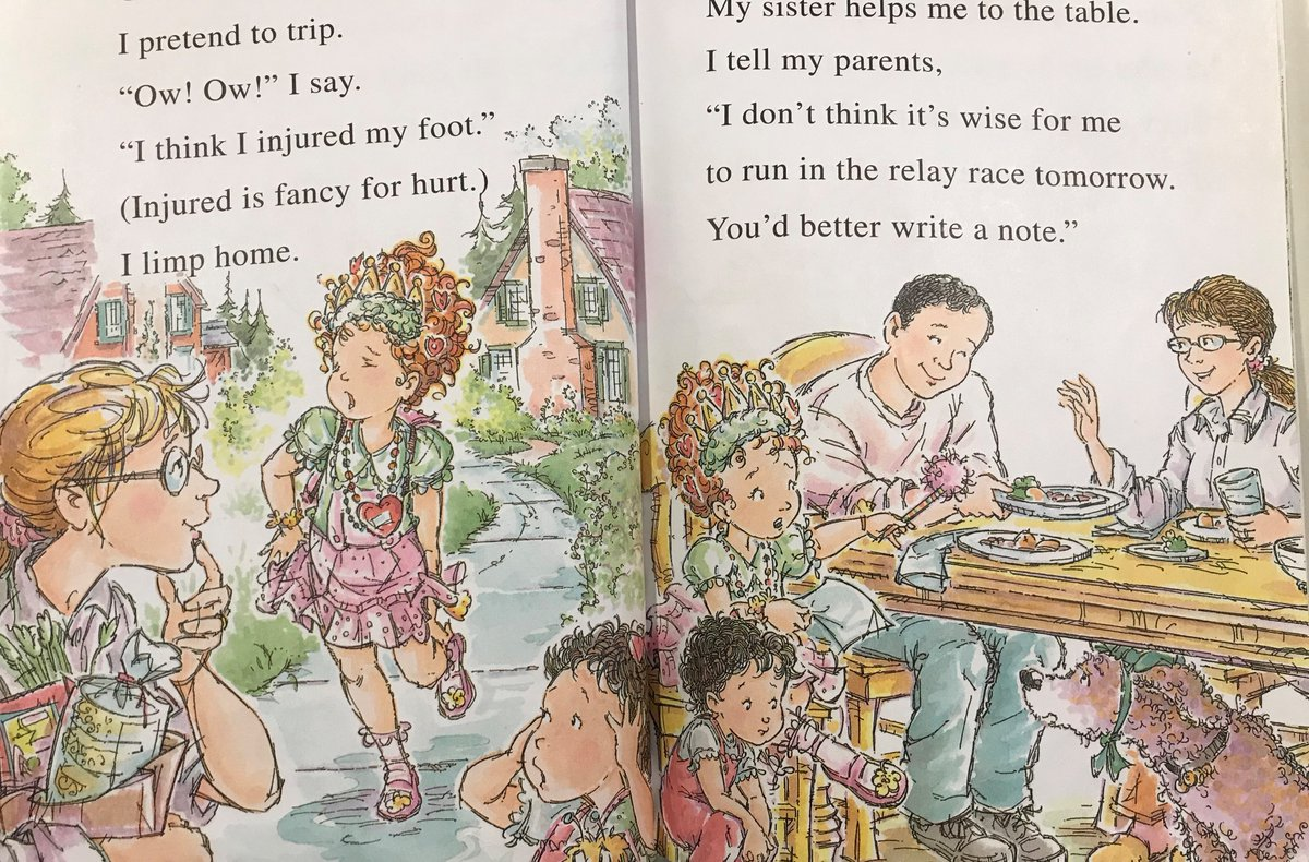 Arglefumph On Twitter My Main Gripe With The Fancy Nancy Books Is That They Re Totally Inconsistent About The Color Of Mom S Hair Here Is Mom Going From Blonde To Brunette On One