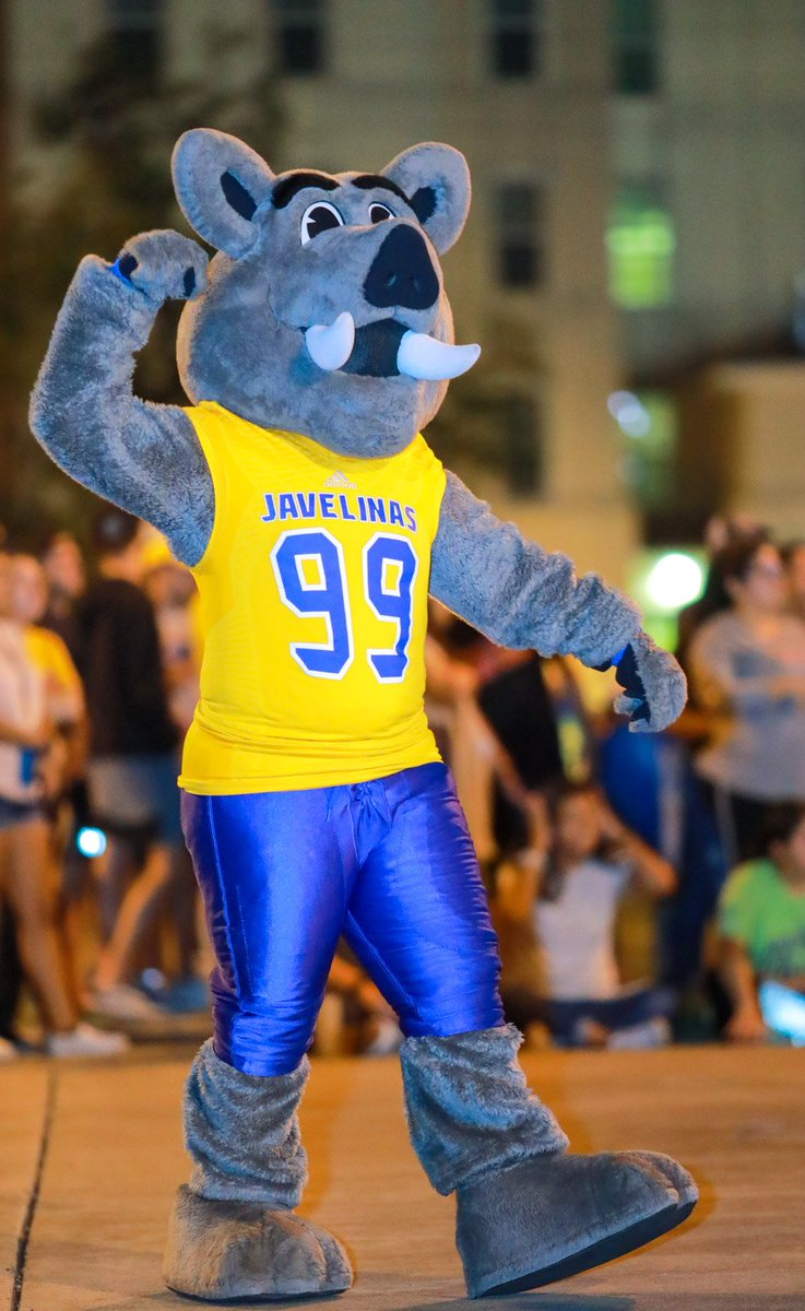 Texas A M Kingsville On Twitter Porky Is Ready For Some Javelina Football Are You Tamuk Takes On Saginaw Valley State At 7 P M In Javelina Stadium Tonight See You Then Https T Co Lyelzej5ur