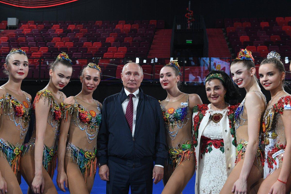 Vladimir Putin visited the Luzhniki Sports Complex bit.ly/2lI2Gqq