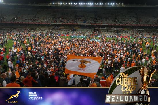 Let the celebrations begin Bloemfontein! #CurrieCupRELOADED #CurrieCupFinal