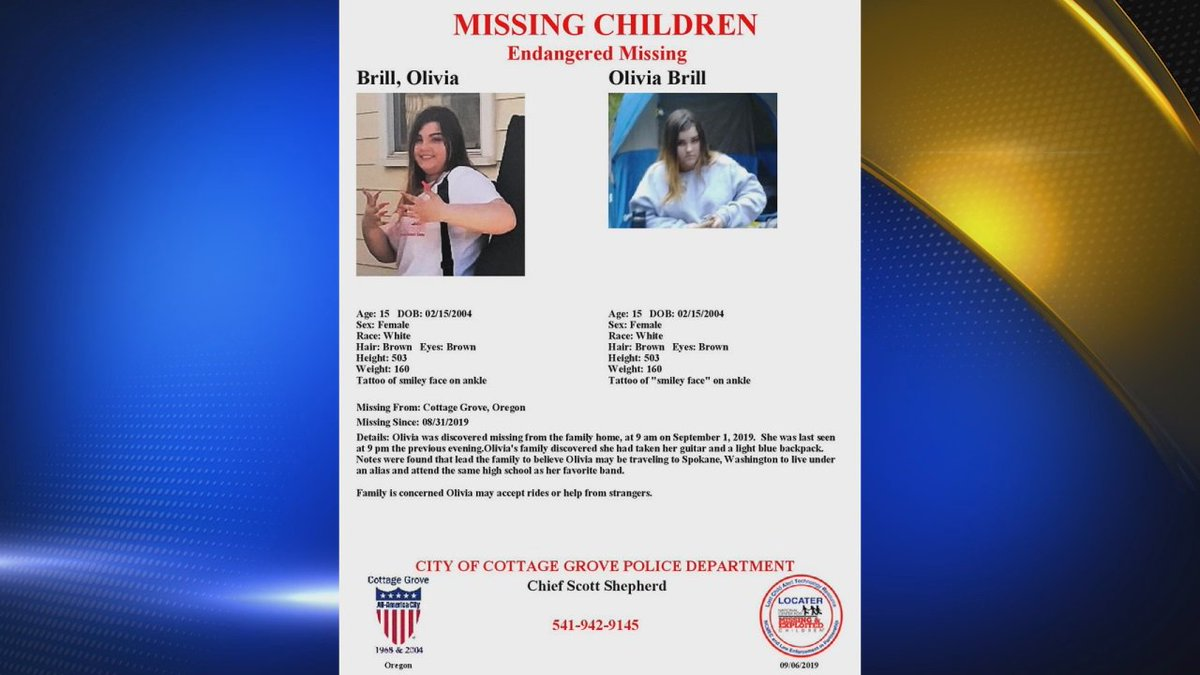 Kezi 9 News On Twitter Police Are Searching For 15 Year Old Olivia Brill Who They Say Has Been Missing For A Week Https T Co Tjcnery4mp Https T Co Fqf7as1j8j