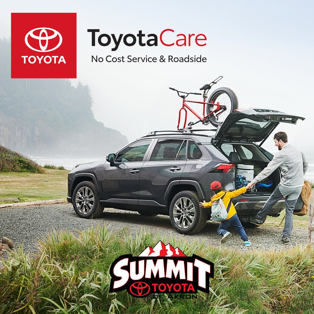 Toyotacare Roadside Assistance Number >> Summit Toyota On Twitter Toyota Care Has More Than Just A