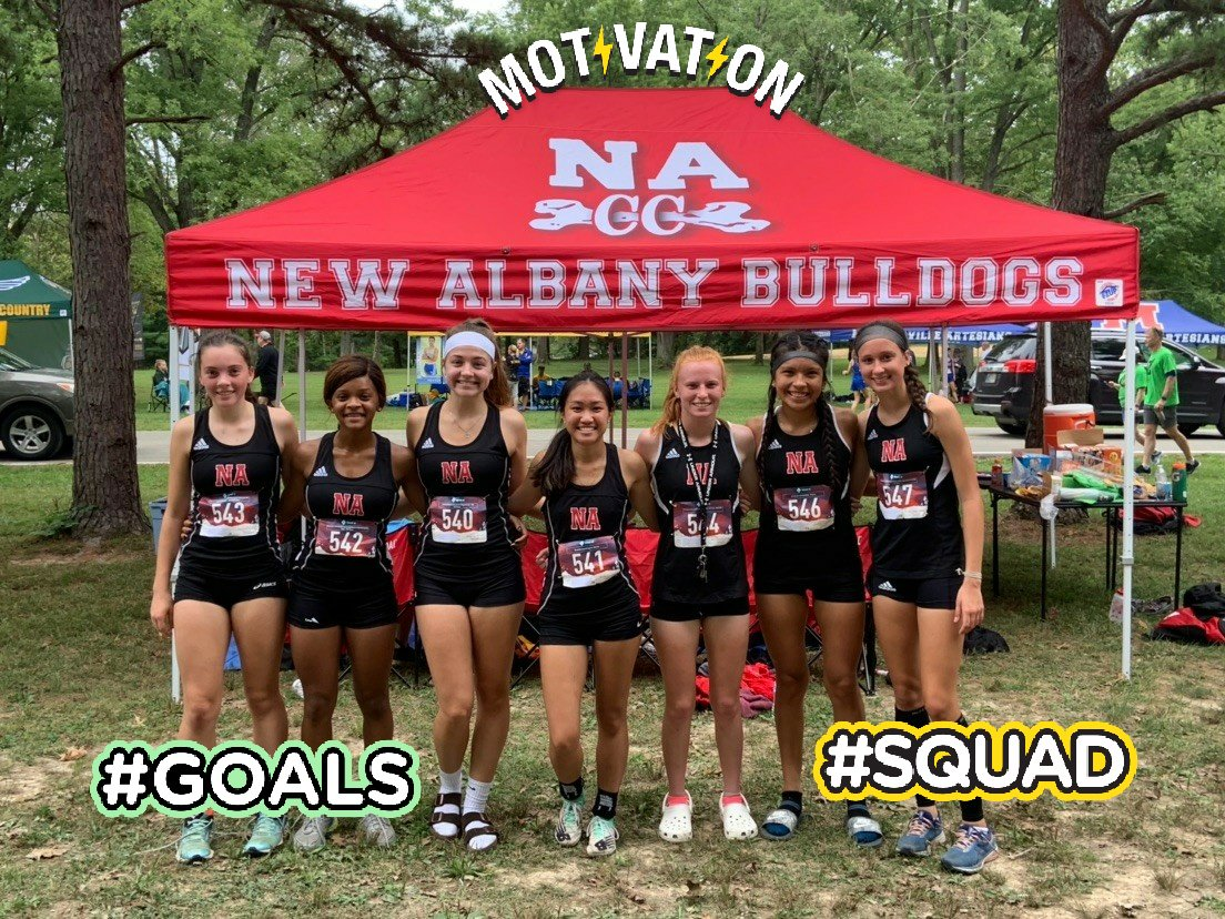 Another great day by the NACC teams. Congrats to the boys team who always go hard and set the tone.  The girls had on of their best meet. and it's still early in the season. Congrats to Laura and Caroline, Top 25. Way to go Dogs! #hardworkgetsresults #noblunyhere #justkeeprunning