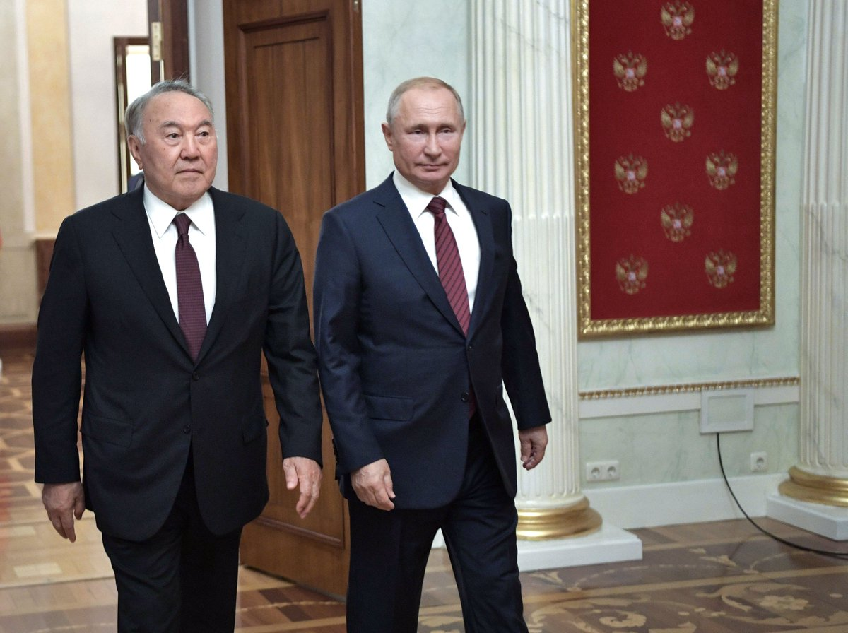 #Kremlin: Meeting with Nursultan Nazarbayev bit.ly/2m2MWP3