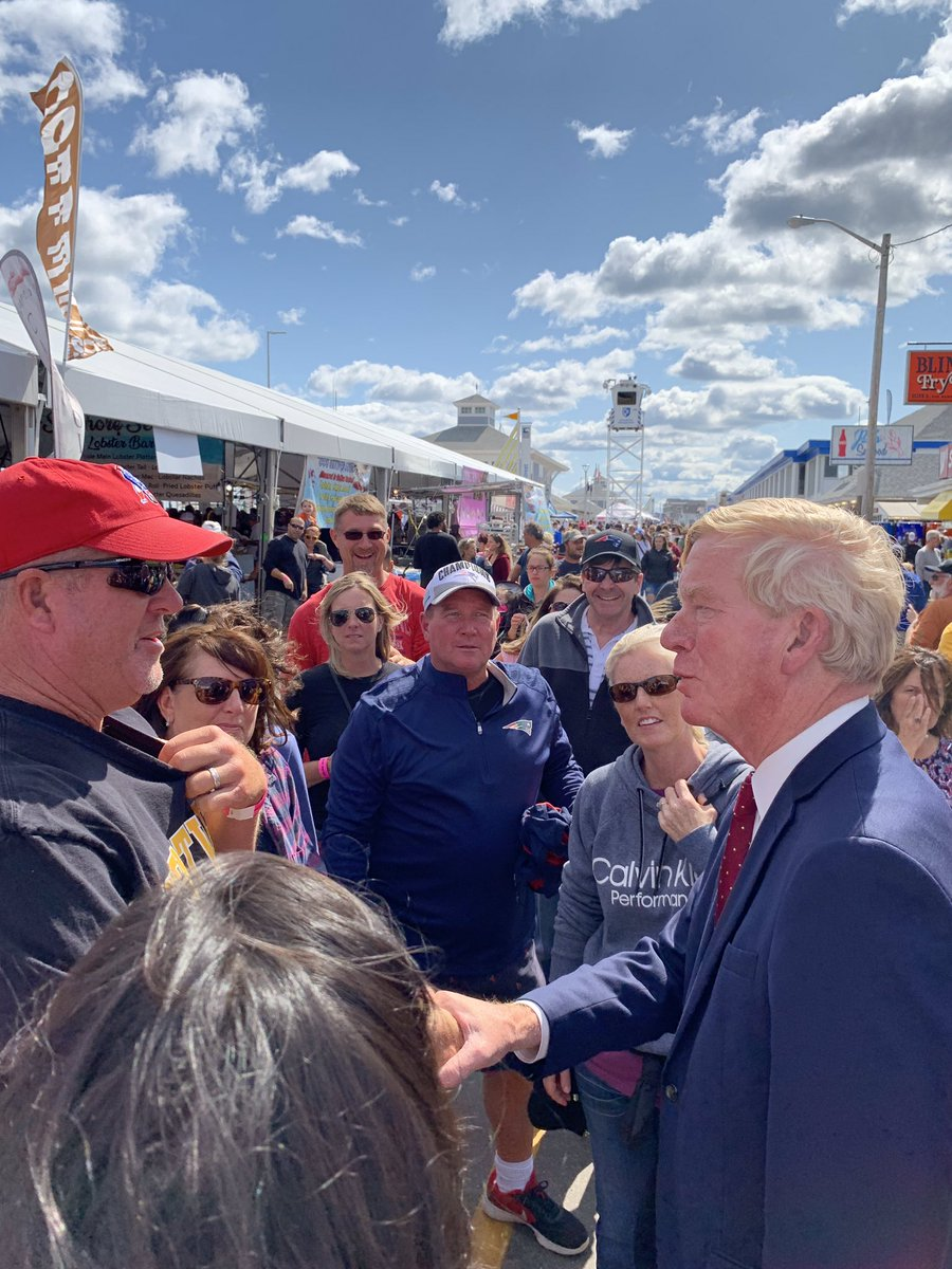 Hampton Beach Seafood Festival 2020.Gov Bill Weld V Twitter Great Food Great Conversation