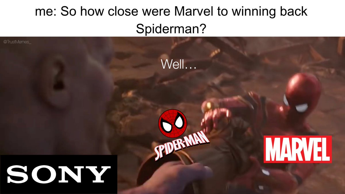 So Close...  #marvel #SpiderManFarFromTheMCU  #SpidermanBelongsInTheMCU  #MarvelStudios  #mcu #Sony<br>http://pic.twitter.com/MvDnC7Bvwu