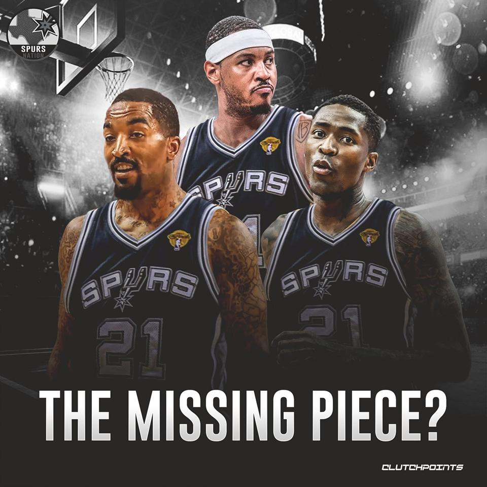 Which free agent do you want to see in a Spurs jersey next season?  #GoSpursGo <br>http://pic.twitter.com/spvuL718uJ