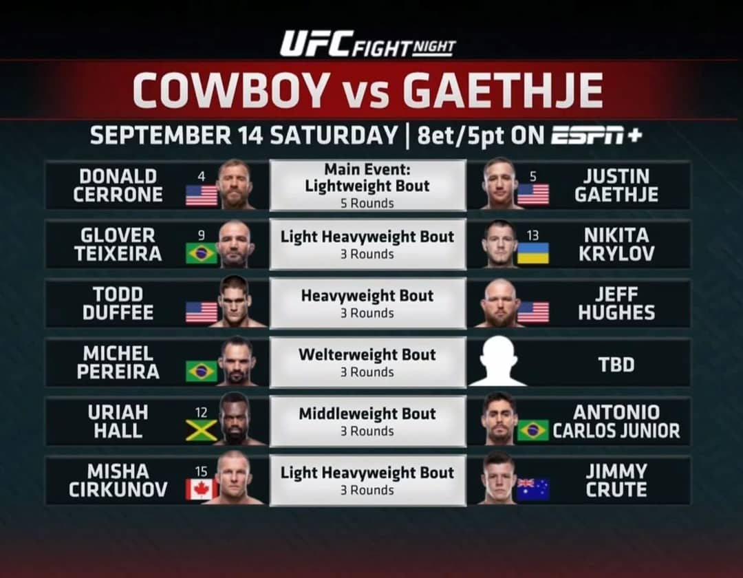 The @ufc know how to open up a main card in style. . . . #ufc #ufcvancouver #notheretofuckspiders https://t.co/dznKjcfsul