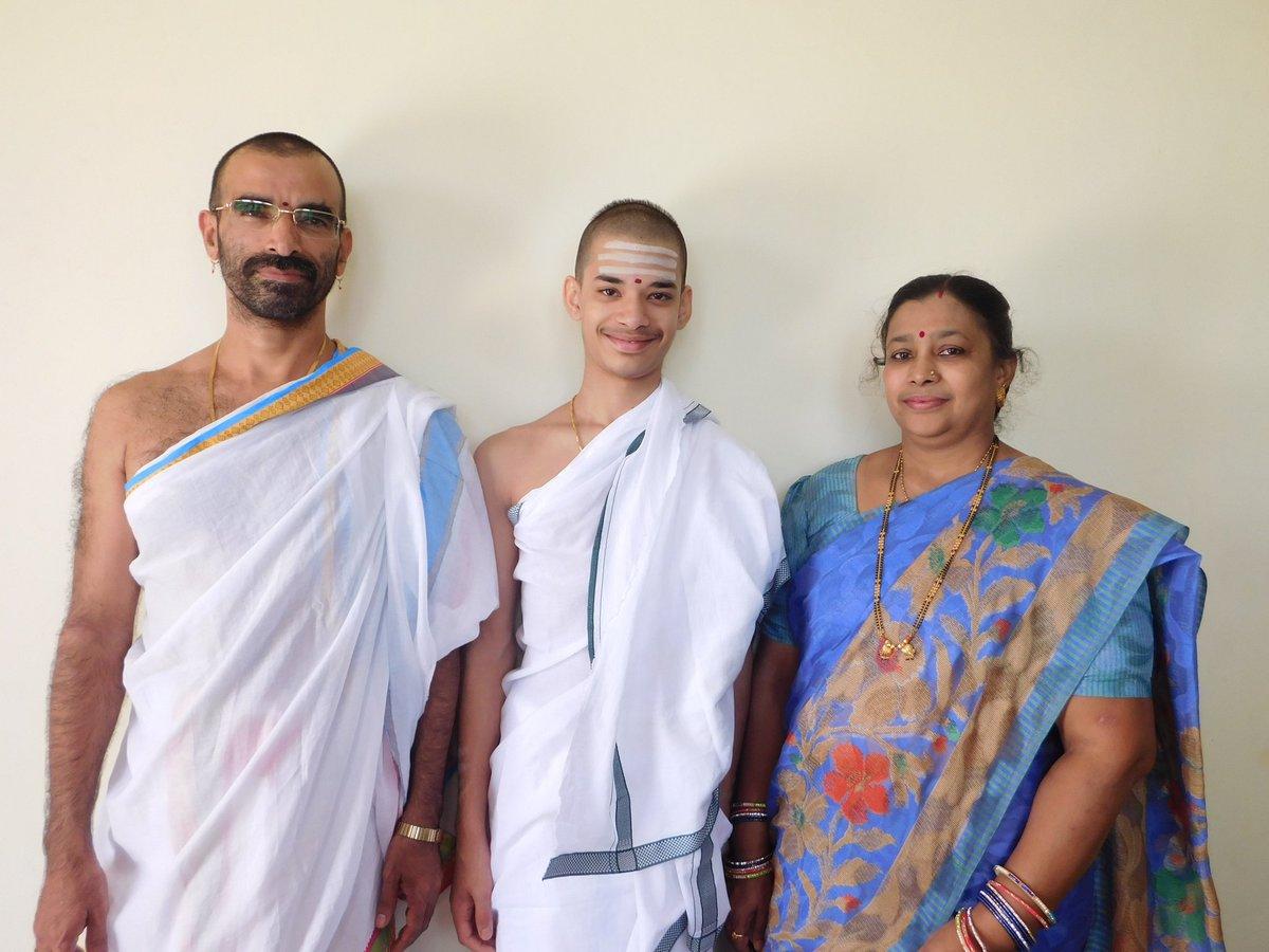 History was created yesterday by 16year old Priyavrata S/o Smt Aparna and Sri DevadattaPatil While studying Veda&Nyaya from his father he studied all Vyakarana MahaGranthas from Sri MohanaSharma, passed 14 levels of Tenali Pariksha Youngest to pass the MahaPariksha @narendramodi