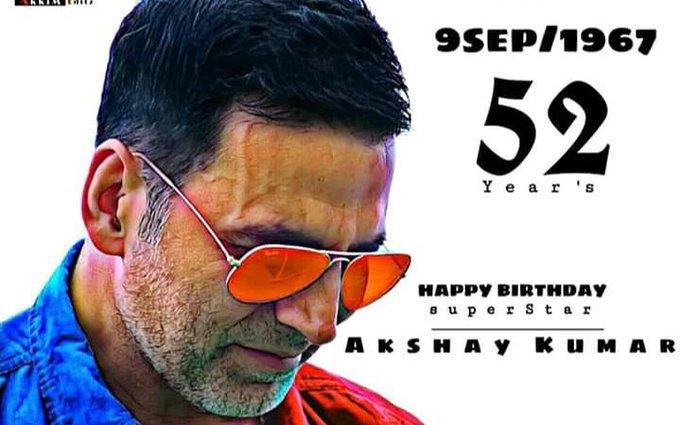 Happy birthday Akshay Kumar. love you so much sir.
