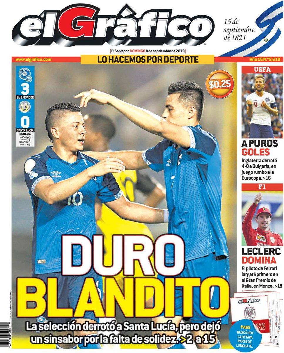 Liga de Naciones CONCACAF 2019: El Salvador 3 Santa Lucia 0. ED60Y7tXkAA2GY7?format=jpg&name=medium