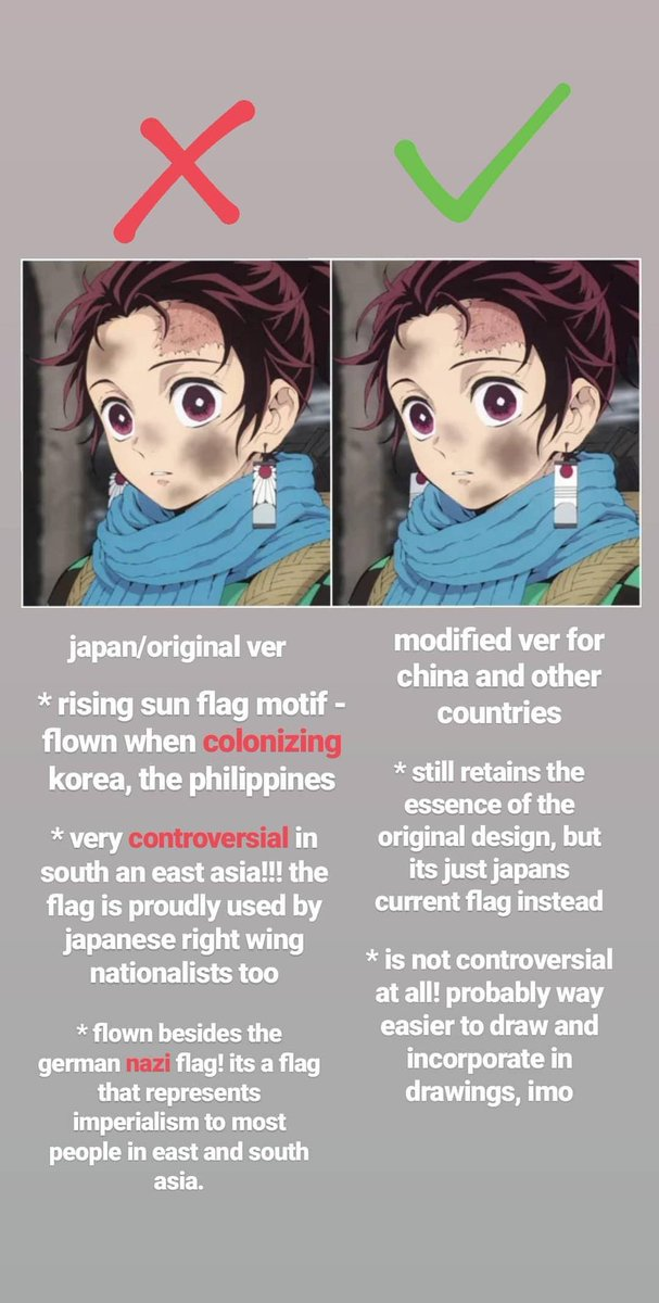 Clown Slayer On Twitter Tanjiro S Earrings Are As Problematic As Asuka S Mixed Heritage Name Choice I M Just Going To Ignore The Author S Designs And Replace Them With My Own Politically Correct Ones I 8,861 likes · 239 talking about this. clown slayer on twitter tanjiro s