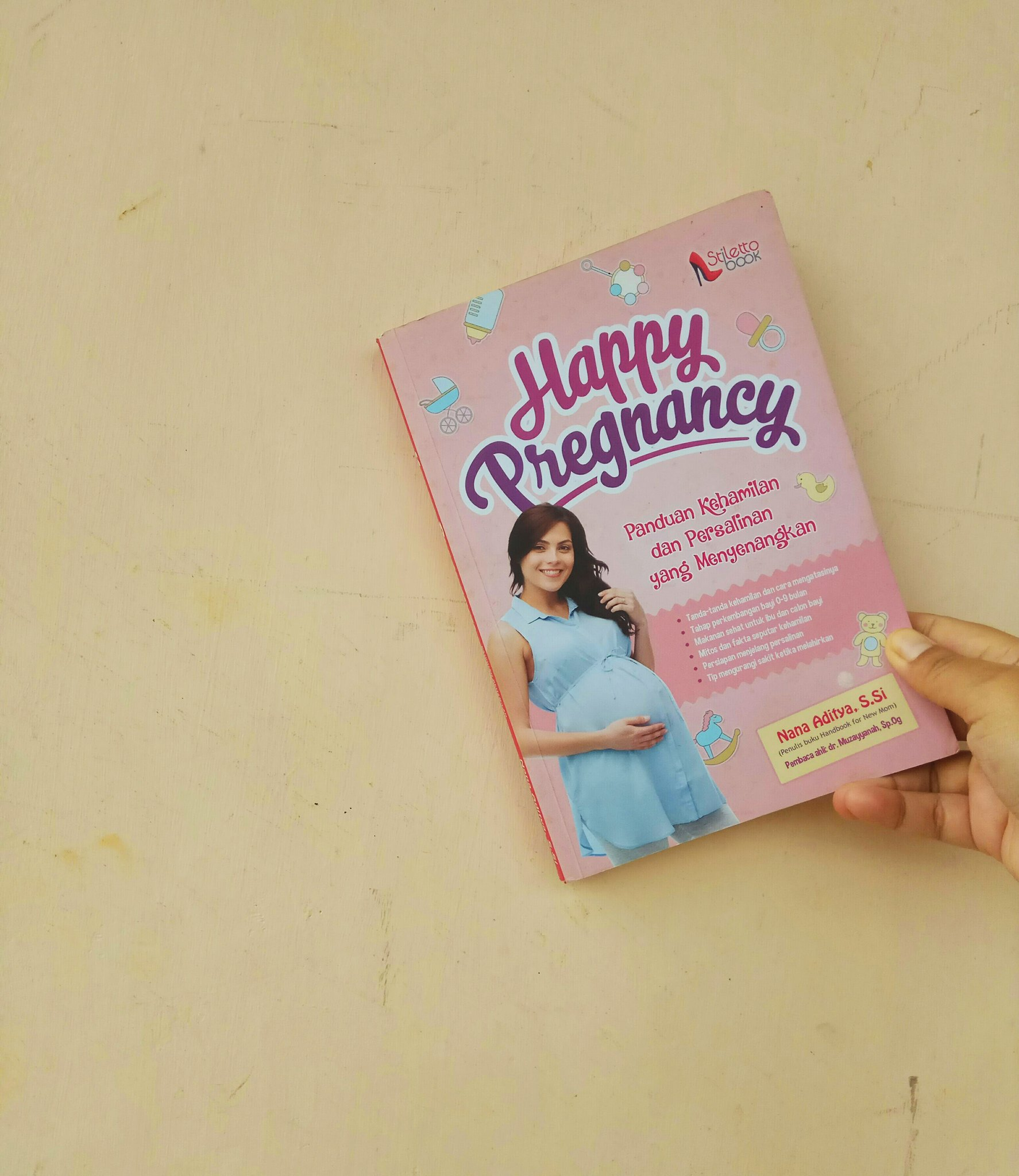 Buku Happy Pregnancy
