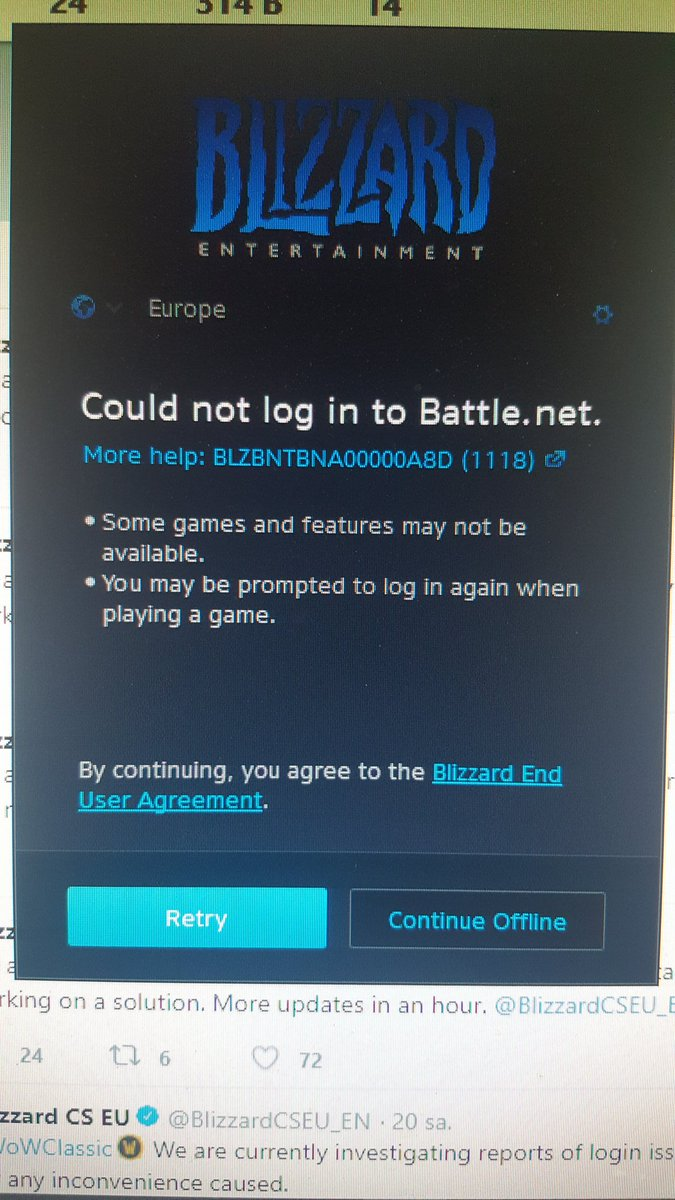 Blizzard CS EU on Twitter: