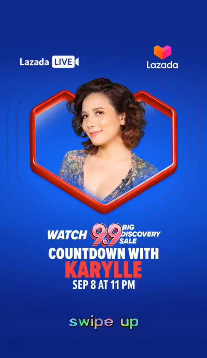 @anakarylle will be on Lazada Live again tonight at 11pm!   #Lazada99 <br>http://pic.twitter.com/dsYGlbBYx3
