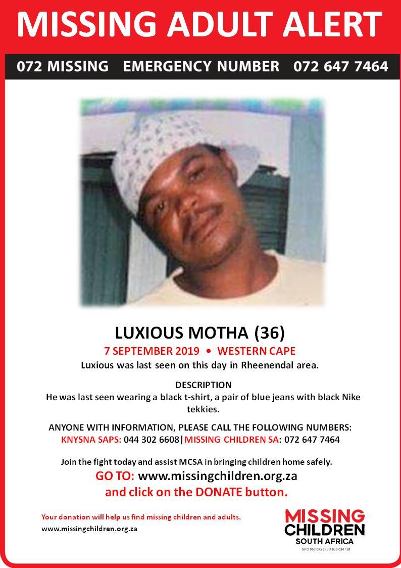 Missing Children SA (@072MISSING) | Twitter