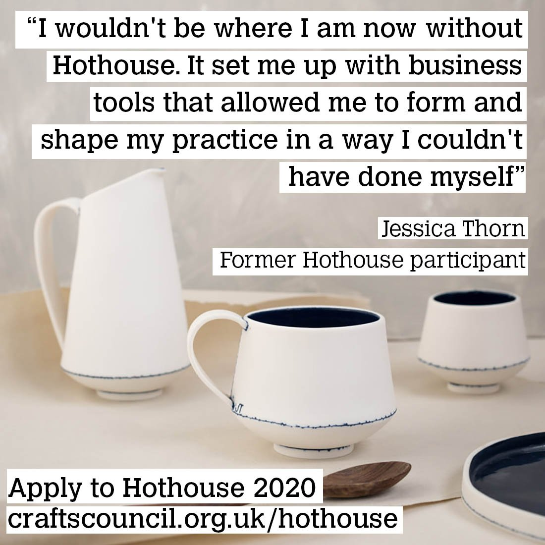 Last chance to apply to #Hothouse2020! Apply now before it's too late...bit.ly/2JErvgG