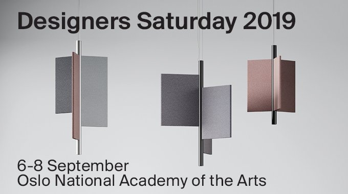 Don't miss the last chance to see Trypta at Designer Saturday in Oslo! The acoustic lamp has recently won the Best Product Award issued by Architects Newspaper https://t.co/XMfd7rkaz2