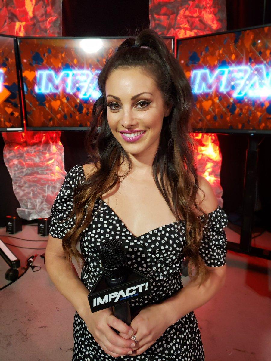 Новая ведущая Impact Wrestling